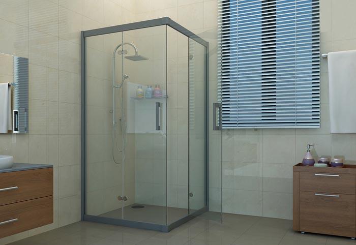 Phòng tắm rửa kính cửa lùa - Tiết kiệm tối đa không gian sử dụng P.9