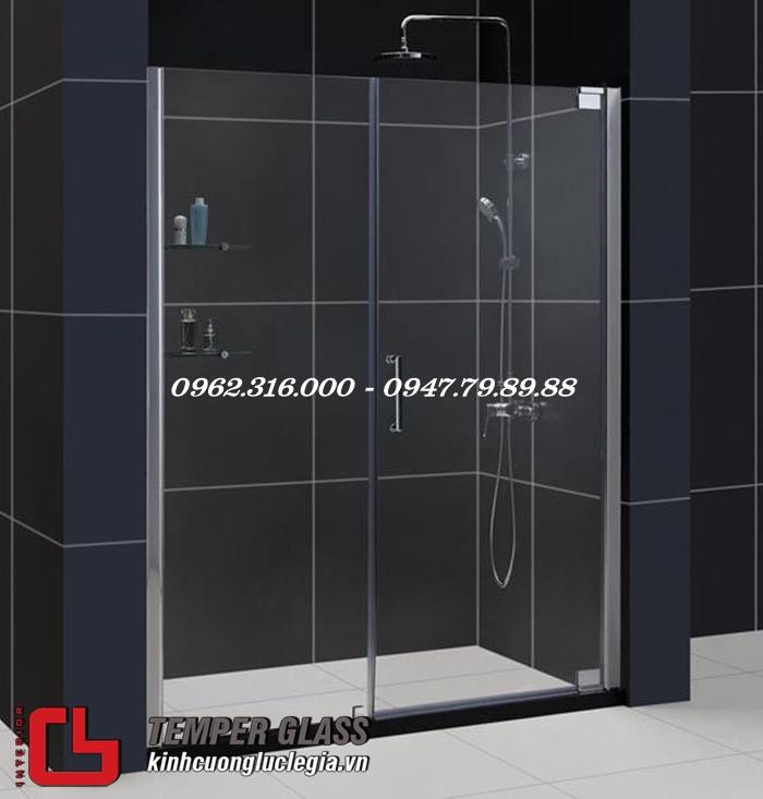 Lắp đặt phòng tắm kính tại Thanh Oai