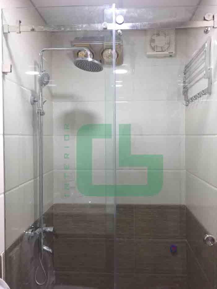 Phòng tắm kính tại Phú Xuyên