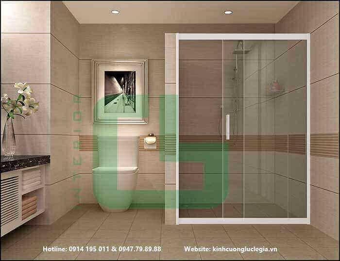 Những gợi ý làm mới không gian phòng tắm kính