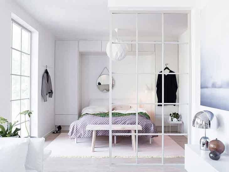 Vách ngăn phòng ngủ 14