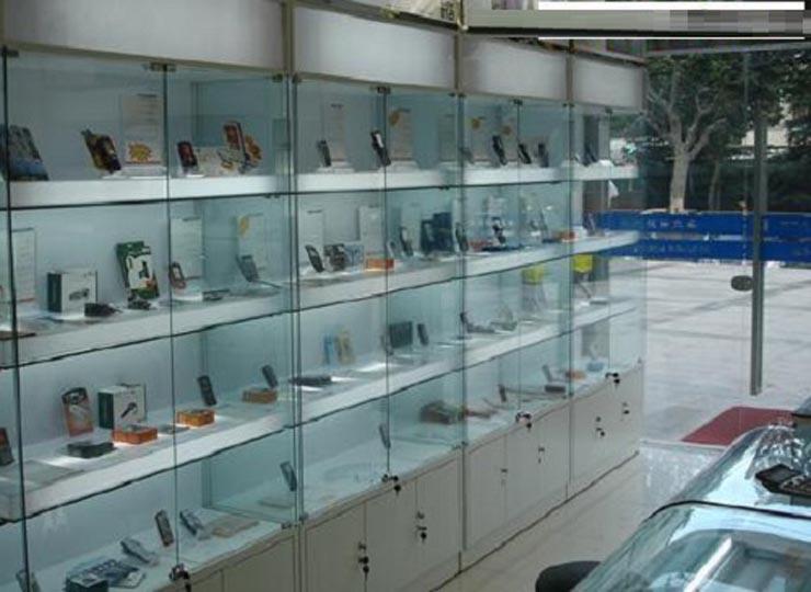 tủ kính trưng bày 2