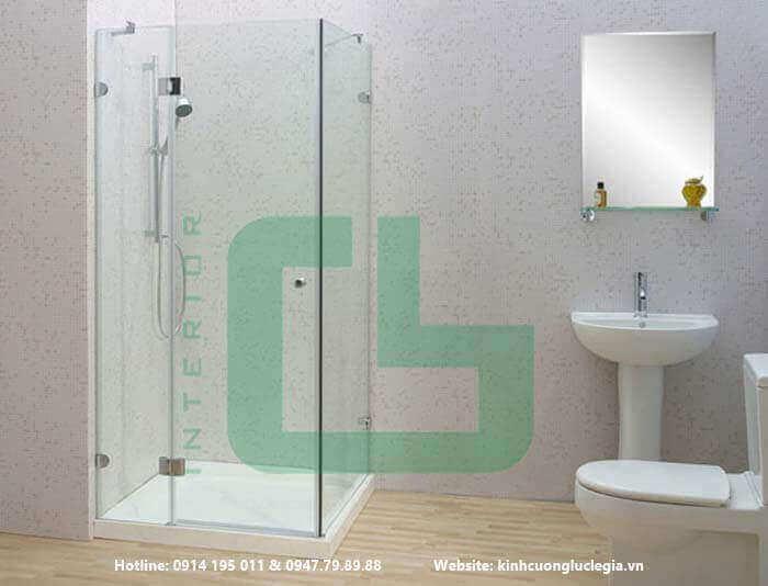 Những lý do nên lắp đặt kính cường lực phòng tắm