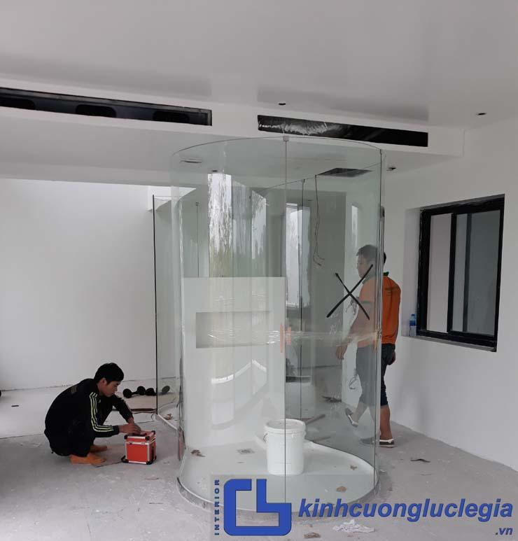 cửa kính cường lực tại Lâm Đồng