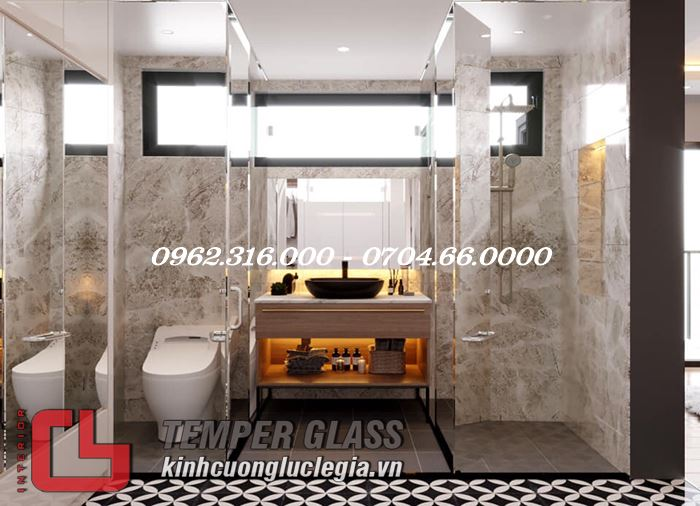 Thiết kế phòng tắm cao cấp Lê Gia